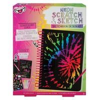 Fashion Angels NEON Scratch & Sketch Sketchbook Design Kit