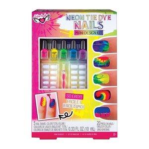 Fashion Angels Neon Tie Dye - Nail Design Kit