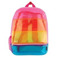Fashion Angels Transparent Rainbow Backpack