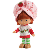 "Schylling 6"" Retro Strawberry Shortcake Doll (40th Anniversary Edition)"