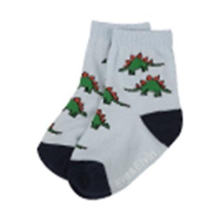 Explanet Enterprise Good Boy Socks - Dino White2