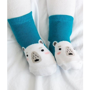 Explanet Enterprise Zoo Socks - Polar Bear