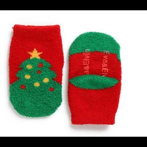 Explanet Enterprise Fuzzy Fur Anti-Skid Socks - Christmas Tree