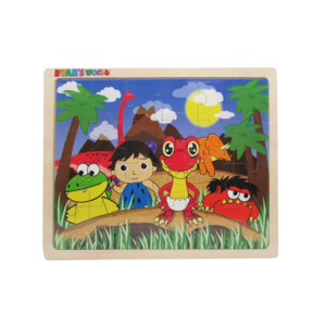 Kids Preferred Ryan's Dinosaur & Friends 24 pc Jigsaw Puzzle