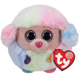 Ty Rainbow Poodle - Ty Puffies