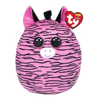 "Ty 12"" Zebra Squish-a-Boos (Zoey)"
