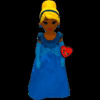 Ty Princess Beanie Baby (Cinderella)