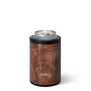 Swig 12 oz - Combo Can/Bottle Cooler - Black Walnut