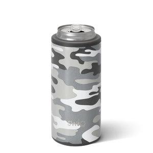 Swig 12 oz - Skinny Can Cooler - Incognito Camo