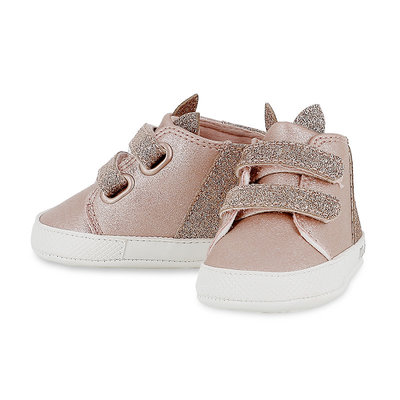 Mayoral Sparkly Blush Booties