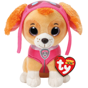 Ty Skye - Paw Patrol - Plush Stuffed Animal (Small) dog cockapoo