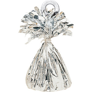 Balloons.com Silver Foil Bouquet Weight