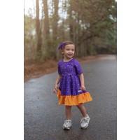 Evie's Closet LSU/Saints Reversible Dress (2 dresses in one!)