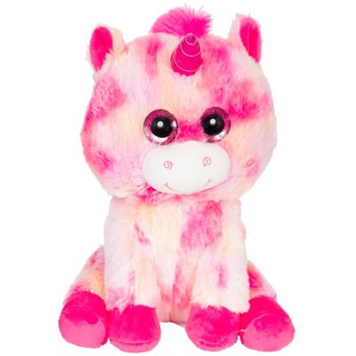 "Zoofy 10"" Looky Boo's - Pink Tie Dye Unicorn Plush Stuffed Animal"