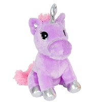"Zoofy 13"" Purple Unicorn Plush Stuffed Animal Fantasy Pets"