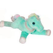 """Zoofy 15"""" Blue Fantasy Pets - Laying Down Unicorn Plush Stuffed Animal"""