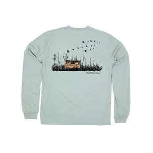 Properly Tied LD Duck Blind Long Sleeve (Sage)