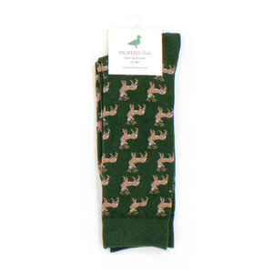 Properly Tied LD Lucky Duck Sock - Whitetail