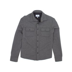 Properly Tied Cooper Shirt Jacket Dark Heather Grey