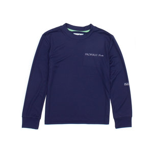 Properly Tied Flight Cool Tech Long-Sleeved Navy