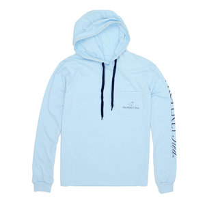 Properly Tied Gulf Hoodie Powder Blue