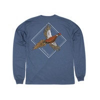 Properly Tied Flying Pheasant Long-Sleeved Stone Blue