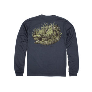Properly Tied Gator Long-Sleeved Dark Grey