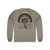 Properly Tied Turkey Mount Long-Sleeved Tan