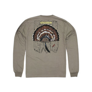 Properly Tied Turkey Mount Long-Sleeved Tan