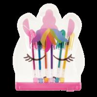 Iscream Unicorn - Mini Gel Pen Set (6 colorful pens with pouch)