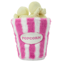 Iscream Popcorn 3D Furry Popcorn with Popcorn Kernels - Plush