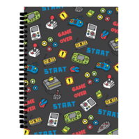 Iscream Level Up - 3D Journal - 70 page Notebook