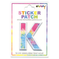Iscream K Tie Dye Sticker Patch