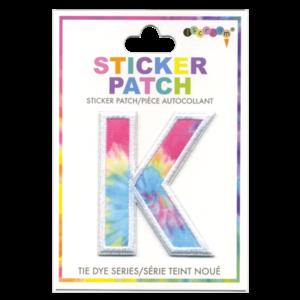 Iscream K Tie Dye Sticker Patch