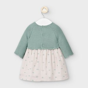 Mayoral Knitted dress (Green Tea)