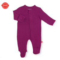 Magnetic Me Plum Modal Magnetic Footie
