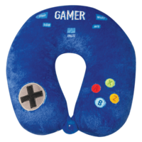 Iscream Gamer - Fleece Travel Neck Pillow