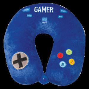 Iscream Gamer - Fleece Travel Neck Pillow