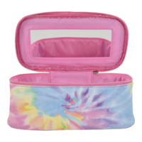 Iscream Pastel Tie Dye Cosmetic Case