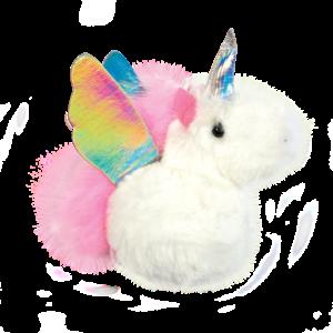 Iscream Unicorn Furry Pom-Pom Clip