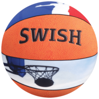 Iscream Extra-Large Basketball 3D Microbead Pillow