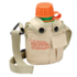 Thin Air Brands Water Canteen with Lid plus Pocket & Shoulder Strap