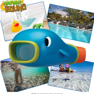 Thin Air Brands Underwater Scope 2x Viewer - View Objects Under Water!