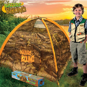 Thin Air Brands 2 Person Dome Play Tent - Tree Camo - Easy Assembly plus Handy Storage Sack