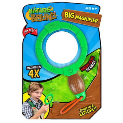 Thin Air Brands Big Magnifier with carabiner clip