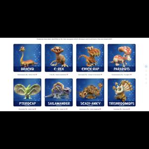 Fungisaurs Fungisaurs - Mystery Vinyl Figures (Dinosaurs and Fungi!)