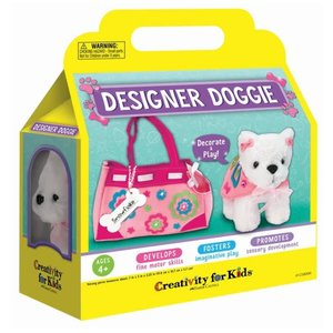 Faber-Castell Designer Doggie - Personalize My Puppy & Purse - Craft Kit