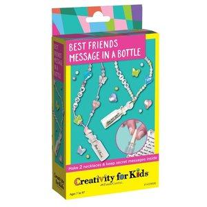 Faber-Castell Best Friends Message in a Bottle - Make 2 Necklaces & Keep Secret Messages Inside!
