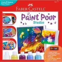 Faber-Castell Paint Pour Studio - Create 6 Magical Paint Pours!