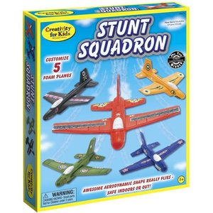 Faber-Castell Stunt Squadron - Customize 5 Foam Planes that Really Fly!